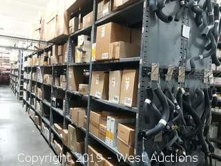55' (38)' Of Product Racking