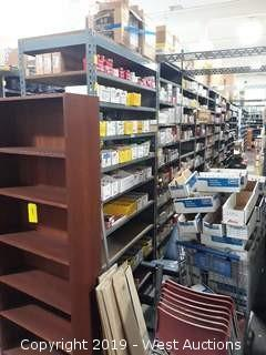 55' (38) Sections Of Product Rack