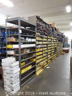 55' (19) Sections Of Product Rack