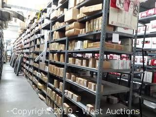 63' (20 Sections) Of Product Racking