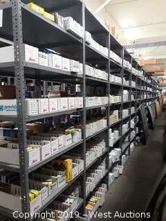 63' (20) Sections Of Product Racking