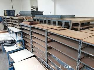 (60) Sections Of Product Racking