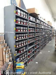 93' (31) Sections Of Product Racking