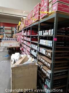 72' (21) Sections Of Product Racking