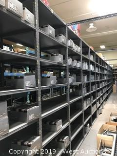 (1)  Rack Of Assorted TYC Parts & Product