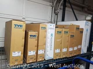 (1) Shelf Of TYC Radiators