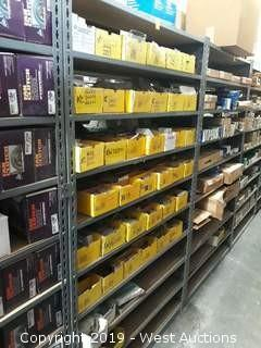 (1)  A Rack Of Assorted Brake Parts & Product