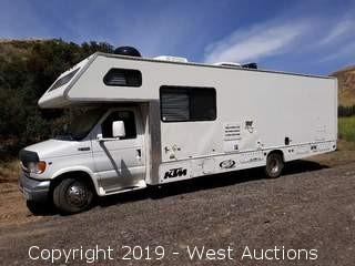 2000 Ford E-450 31' Toy Hauler RV