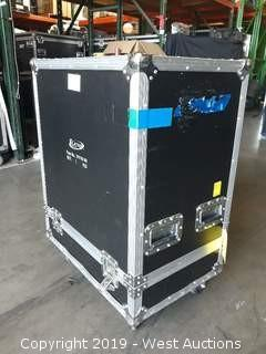 "27""W x 18""L x 32"" Tall Portable Road Case"