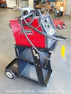 Lincoln Electric Idealarc SP-100 Arc Welder With Cart