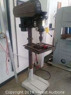 Trans World Steel F2212S 12-speed H.D. Drill Press