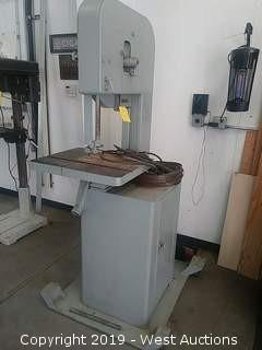 Rockwell Delta Milwaukee Bandsaw with Dolly