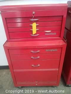 (2) Waterloo Multi Drawer Tool Boxes with contents