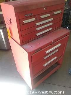 (2) Kennedy Drawer Tool Boxes with contents