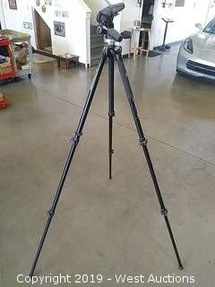 Manfrotto MT294A3 5' Adjustable Tripod with Camera Mount