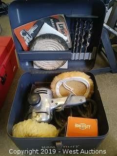 "Black & Decker Home Utility 5"" Sander-Polisher Kit"