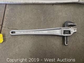"""Ridgid 18"""" Aluminum Wrench"""
