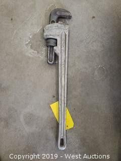 """Ridgid 24"""" Aluminum Wrench"""