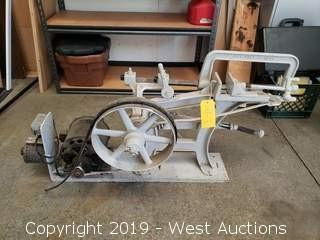 Antique Power Hand Saw