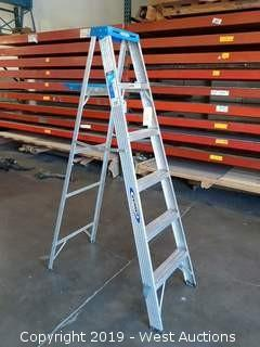 Werner 6' Aluminum Folding Ladder