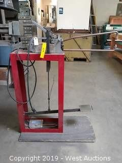 Dayton 2Z543 Spot Welder with Stand