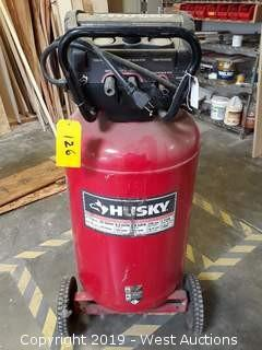 Husky 516-051 33 Gallon Portable Electric Air Compressor