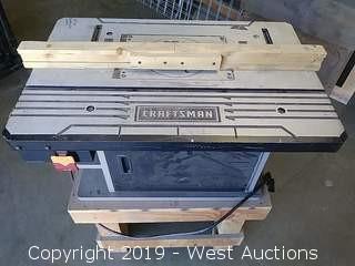 Craftsman 320-37610 Premium Die Cast Aluminum Router Table