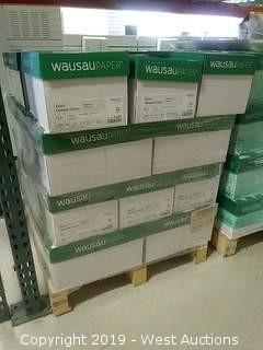 "(1) Pallet of (31.5) Cases of Wausau 68881 Exact, Natural Color, 8-1/2"" x 11"" Paper"