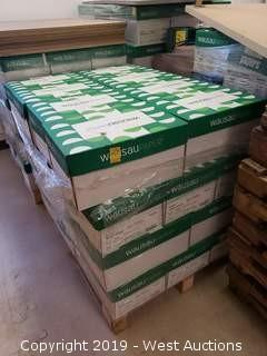 """Pallet of Wasau 8-1/2"""" x 11"""" Paper"""