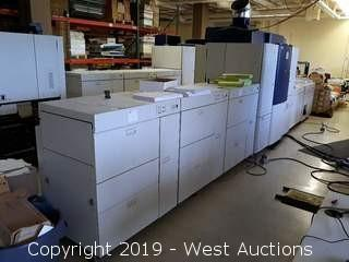 Xerox iGEN3 110 Digital Printing Press with (3) Feeders