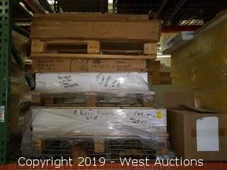 (3) Short Pallets Of Assorted Size/Style Paper