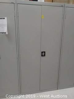 """Sandusky 78"""" Metal Cabinet  (Cabinet Only, No Contents)"""