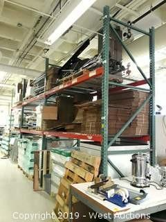 (3) Sections of 12' Pallet Racking (Rack ONLY)