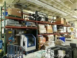 (5) Sections of 12' Pallet Racking (Rack ONLY)