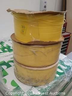 (3) Spools of Plastic Strap