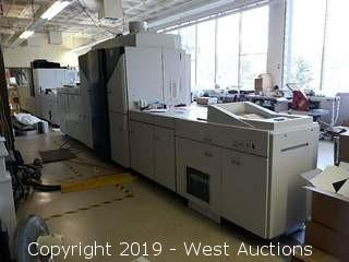 Xerox iGen4 110 Digital Press with (2) Feeders