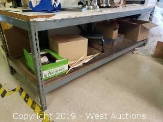 """Rack Table 8' x 3' x 34"""" (TABLE ONLY)"""