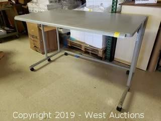 """Rolling Table 60"""" x 36"""" x 36"""""""