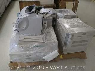 Bulk Lot: Various Printers, Scanners, Copiers