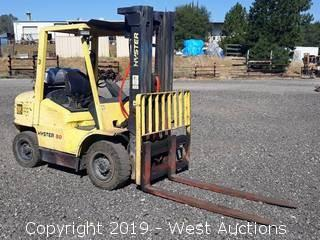 Hyster H80XM 6,950 lb. Capacity Propane Forklift