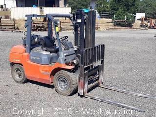 Toyota 7FGKU40 8,200 lb. Capacity Propane Forklift