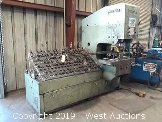 Piranha SEP 140 Ton Punch Press with Dies