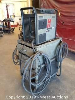 Hypertherm Powermax 1000 G3 Series Plasma Cutter With Cart, Torch And Fittings