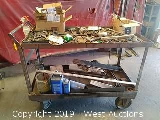 Metal Utility Shop Cart