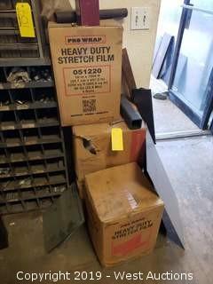 (4) Rolls Of ProWrap Heavy Duty Stretch Film