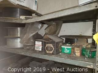 Contents Of Shelf; Wire Feed, Hardware