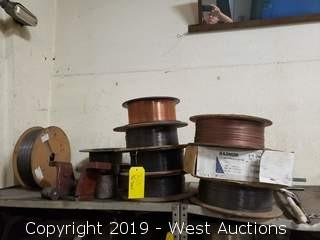 (10) Spools Of Assorted Welding Wire