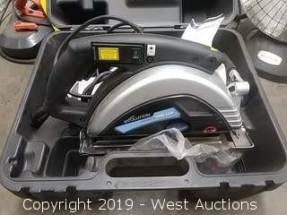 "Evolution EVO230-HDX 9"" Steel Circular Saw with Case"