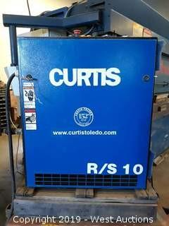 Curtis R/S 10 Rotary Screw Air Compressor