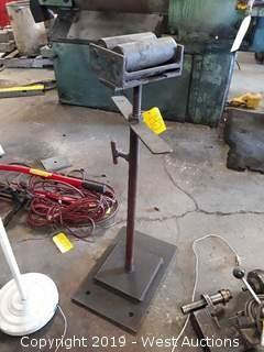Adjustable Height Welder Stand
